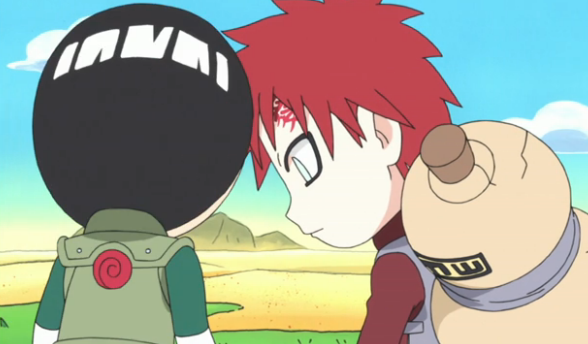 Image - Gaara and Lee.png - Rock Lee's Springtime of Youth ... Gaara And Lee