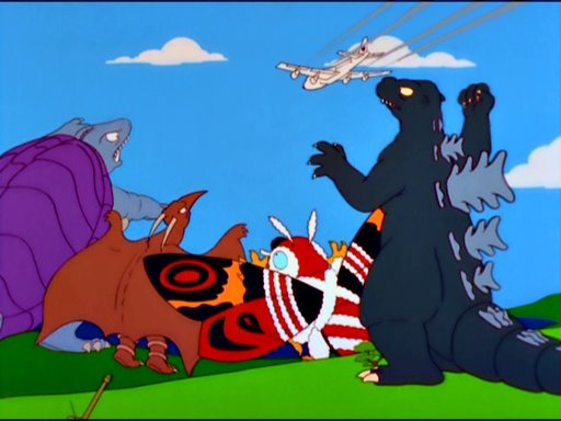 Godzilla Simpsons Wiki