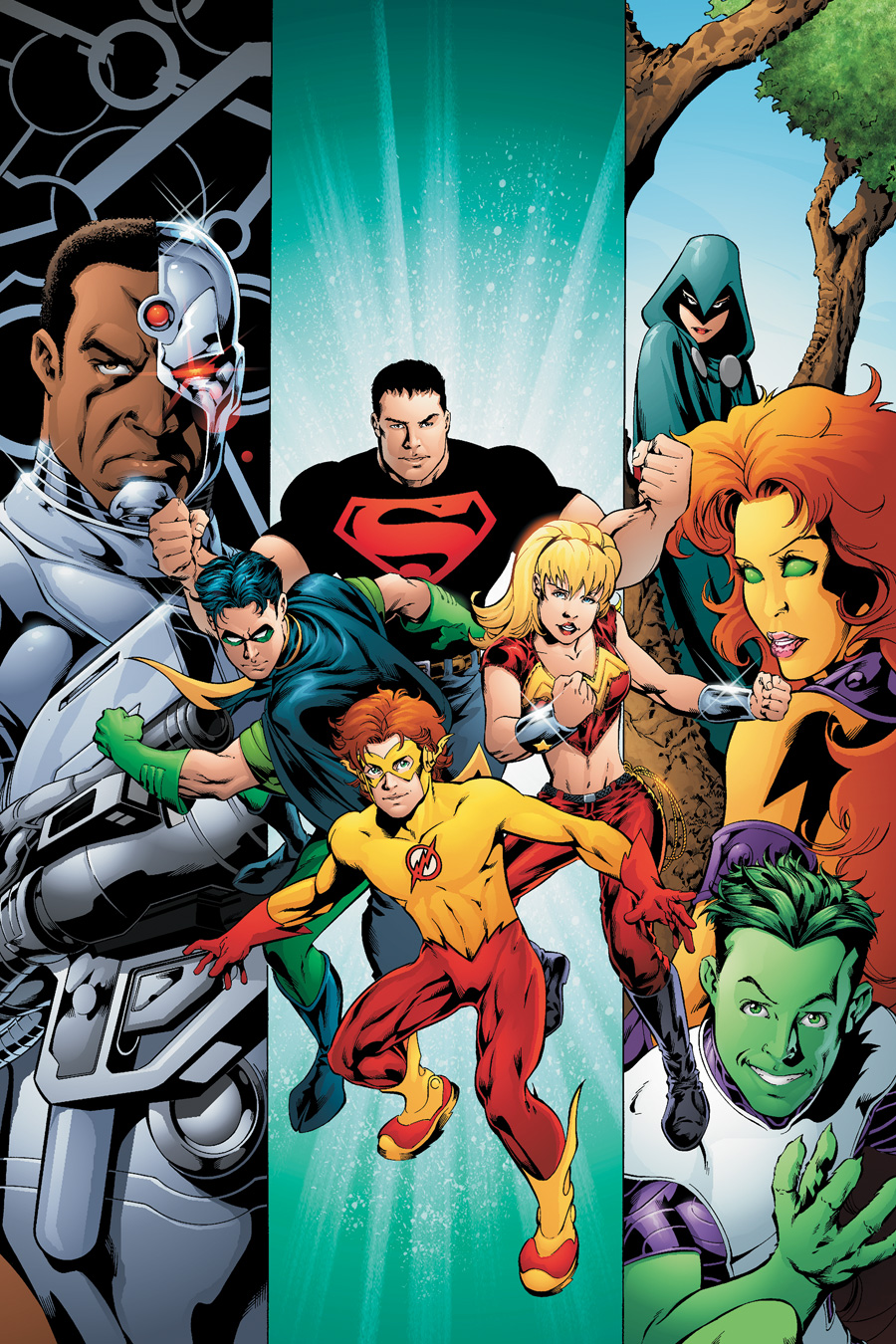 Apologise, but, Teen titans dc comic