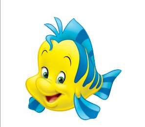 Flounder the little mermaid wiki for The little mermaid fish