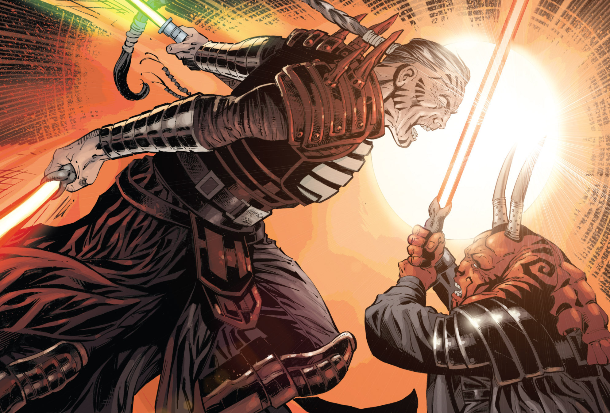 Darth Krayt vs Darth Bane Darth Krayt Defeating Darth