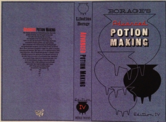 Harry Potter Potions Book Cover Printable : Image advanced potion makingnew harry potter wiki