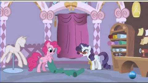 Art of The Dress and Reprise Español MLP FiM