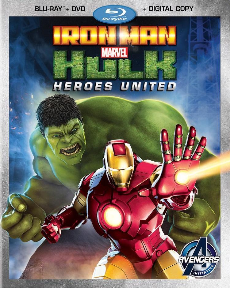 Iron man and hulk heroes united