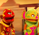 Wrestlers (Anything Muppets)