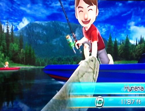 Motorboat wii fishing resort wiki for Fishing resort wii