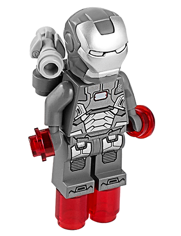 War Machine Lego Coloring Pages