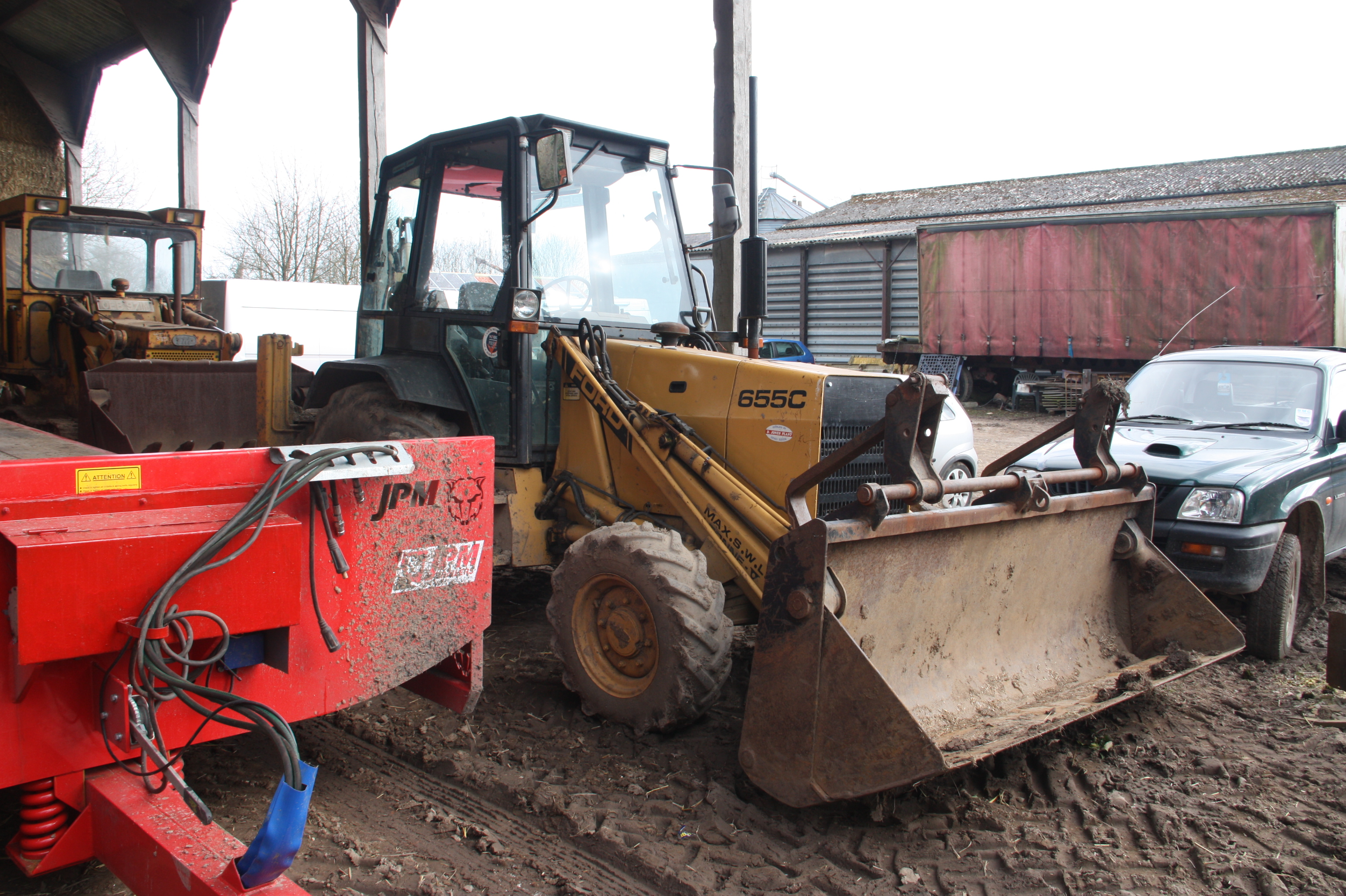 Ford 655d Backhoe Parts : C ford wiki