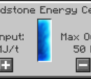 Redstone Energy Cell