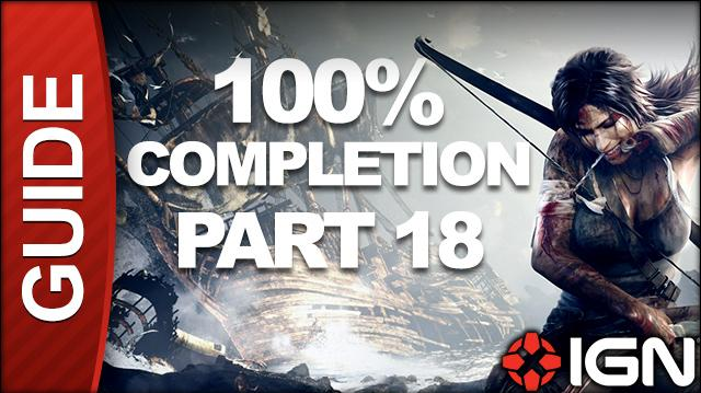 Tomb Raider 100% Completion Walkthrough - Part 18 Liberator pt 2