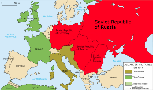 An analysis of the alliance system of pre world war i europe