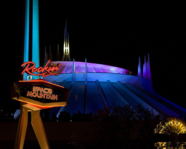 Space Mountain Disneyland Disney Parks Wiki