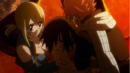 Natsu and Lucy save Éclair.png