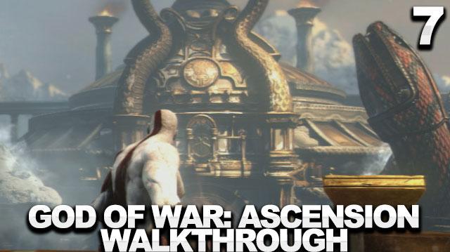 God of War Ascension Walkthrough Part 7 - The Tower of Delphi