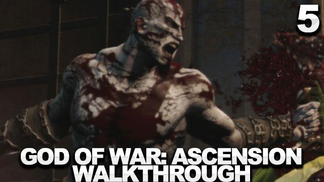 God of War Ascension Walkthrough Part 5 - The Village of Kirra