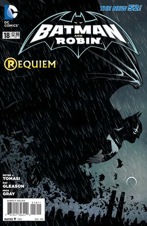 Cover for Batman and Robin #18 (2013)