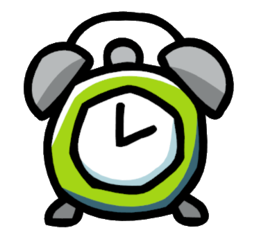 image alarm clock png scribblenauts wiki wikia notepad clipart black and white notepad clipart black and white