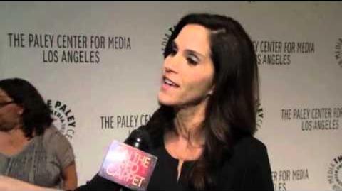 Jami Gertz talks 'The Neighbors' with OTRC com at Paleyfest 2012 Video