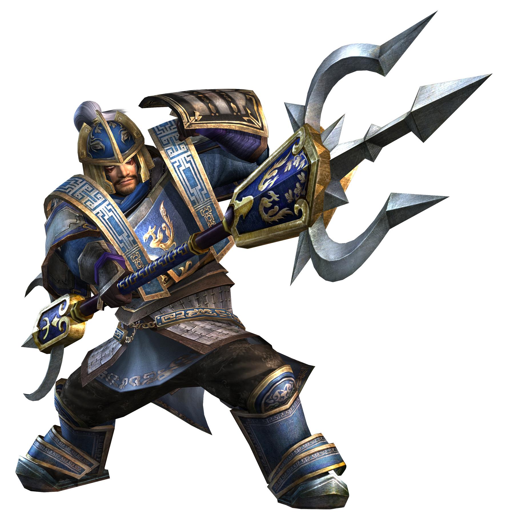 Warriors Orochi 3 Weapons: Caoren-dw6-render.jpg