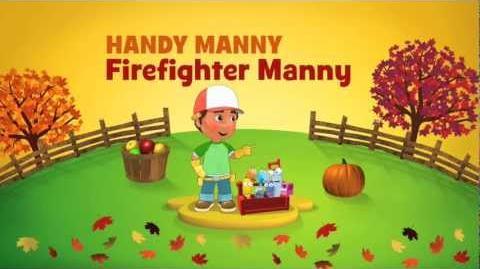 "Disney Junior Handy Manny ""Firefighter Manny"" Special Episode"