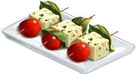 Recipe-Cheese Skewers