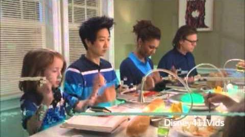 "Disney 365 Carlon Jeffery with ""The Neighbors"" cast-0"
