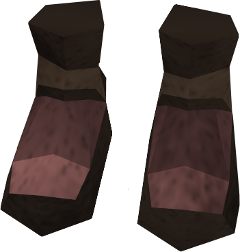megaleather boots the runescape wiki