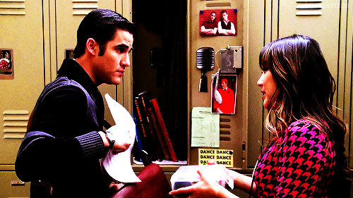 glee tina and blaine relationship tips