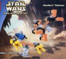 4485 Mini Sebulba's Podracer & Anakin's Podracer