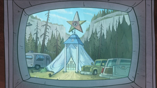 Tent Of Telepathy Gravity Falls Wiki
