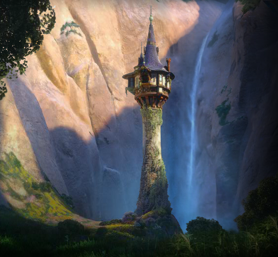 rapunzel tangled tower