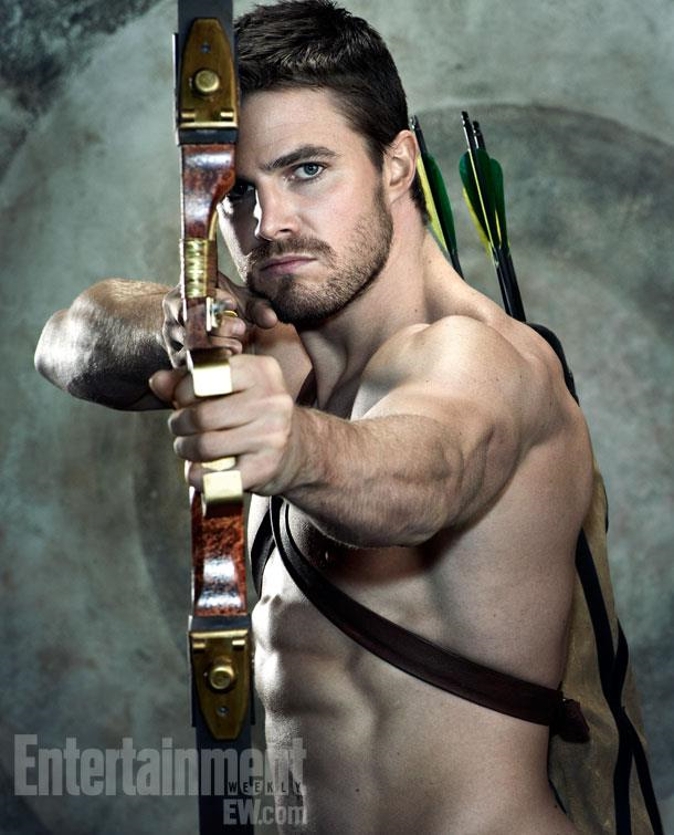 Blood's New Characters  Oliver_Queen_aiming_an_arrow_on_a_target_background