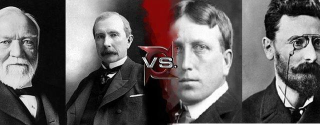 John D  Rockefeller vs  William Randolph Hearst and Joseph PulitzerWilliam Randolph Hearst And Joseph Pulitzer