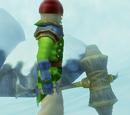 Warrior's Battle Hammer of Hurling