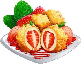 Recipe-Strawberry Cheese Dumplings