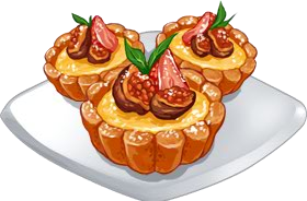Recipe-Fig Strawberry Tart