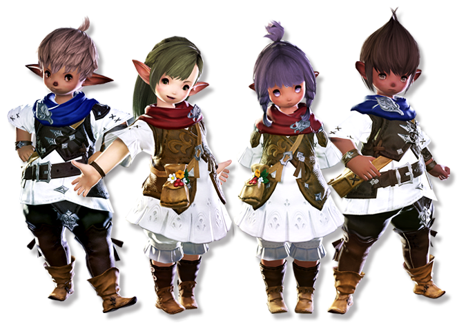 Final Fantasy XIV - A Realm Reborn Lalafell_CG