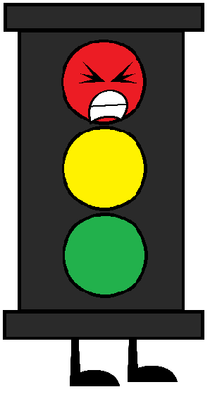Image Traffic Light Angry Red Png Objects At War By