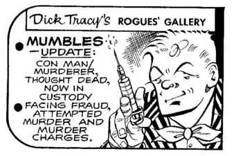 Mumbles in dick tracy