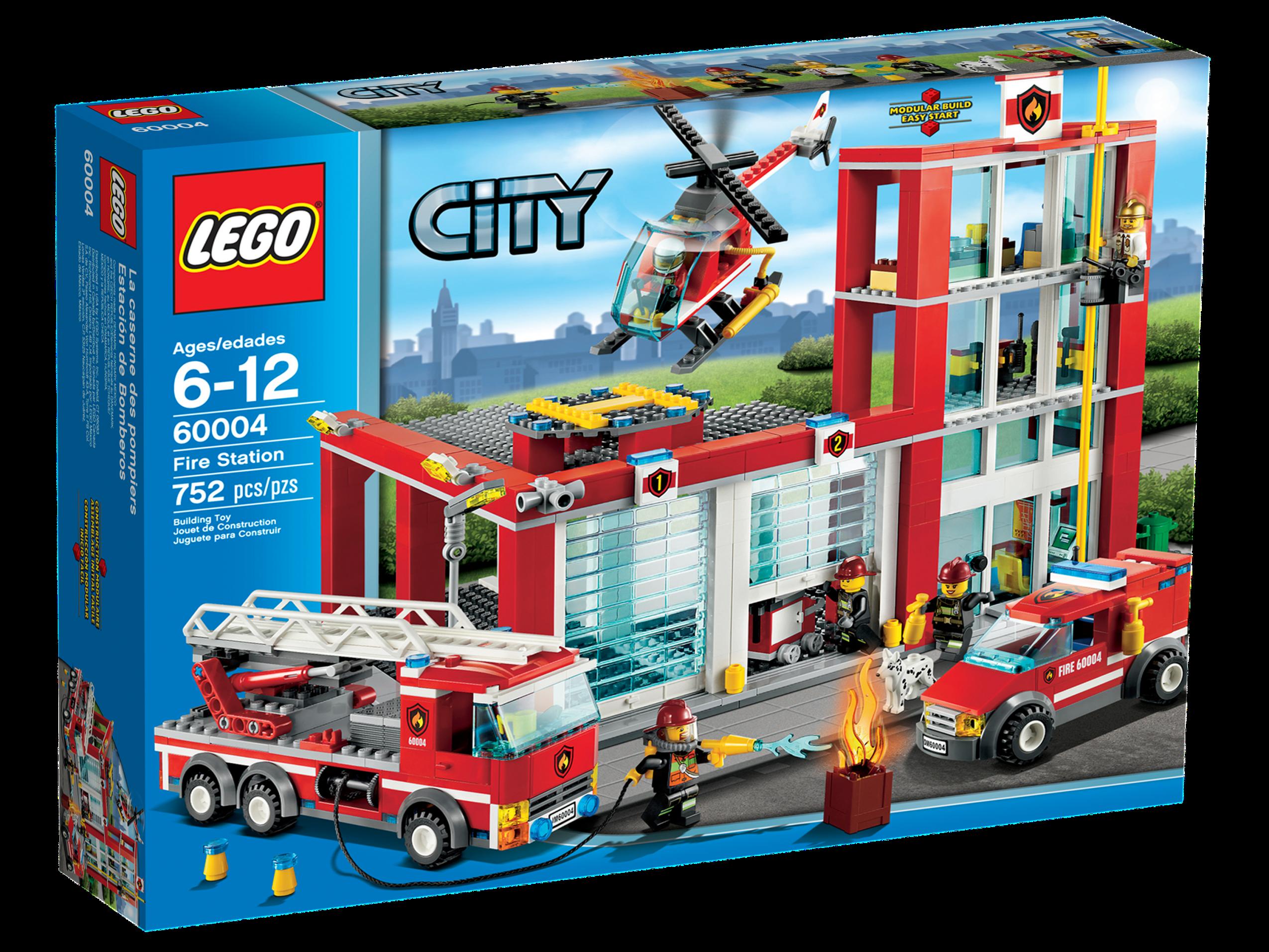 60004 fire station brickipedia the lego wiki. Black Bedroom Furniture Sets. Home Design Ideas