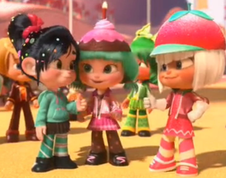 Image - Taffyta and Vanellope.png - Wreck-It Ralph Wiki