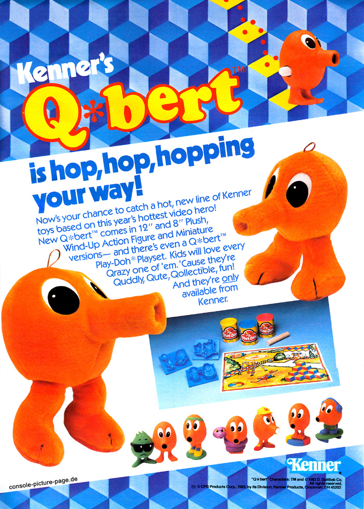 Image - Kenner-q-bert-is-hop-hopping-your-way.jpg - Q*Bert Wiki