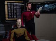 Riker zerlegt Data