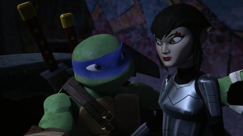 Teenage mutant ninja turtles leonardo and karai kiss fanfiction - photo#22
