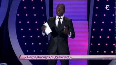 Garde du corps du Président