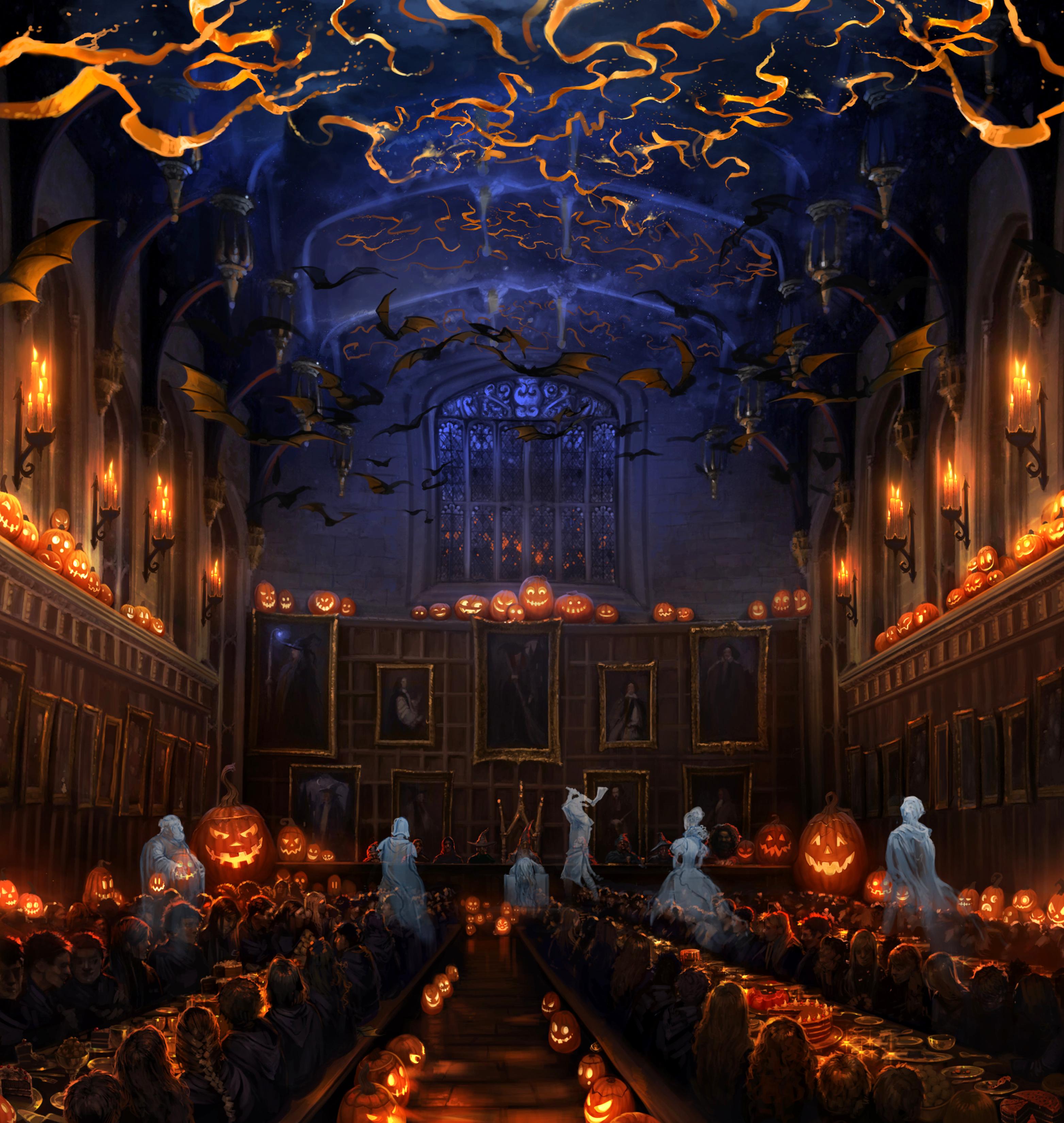 Hallowe'en Feast - Harry Potter Wiki