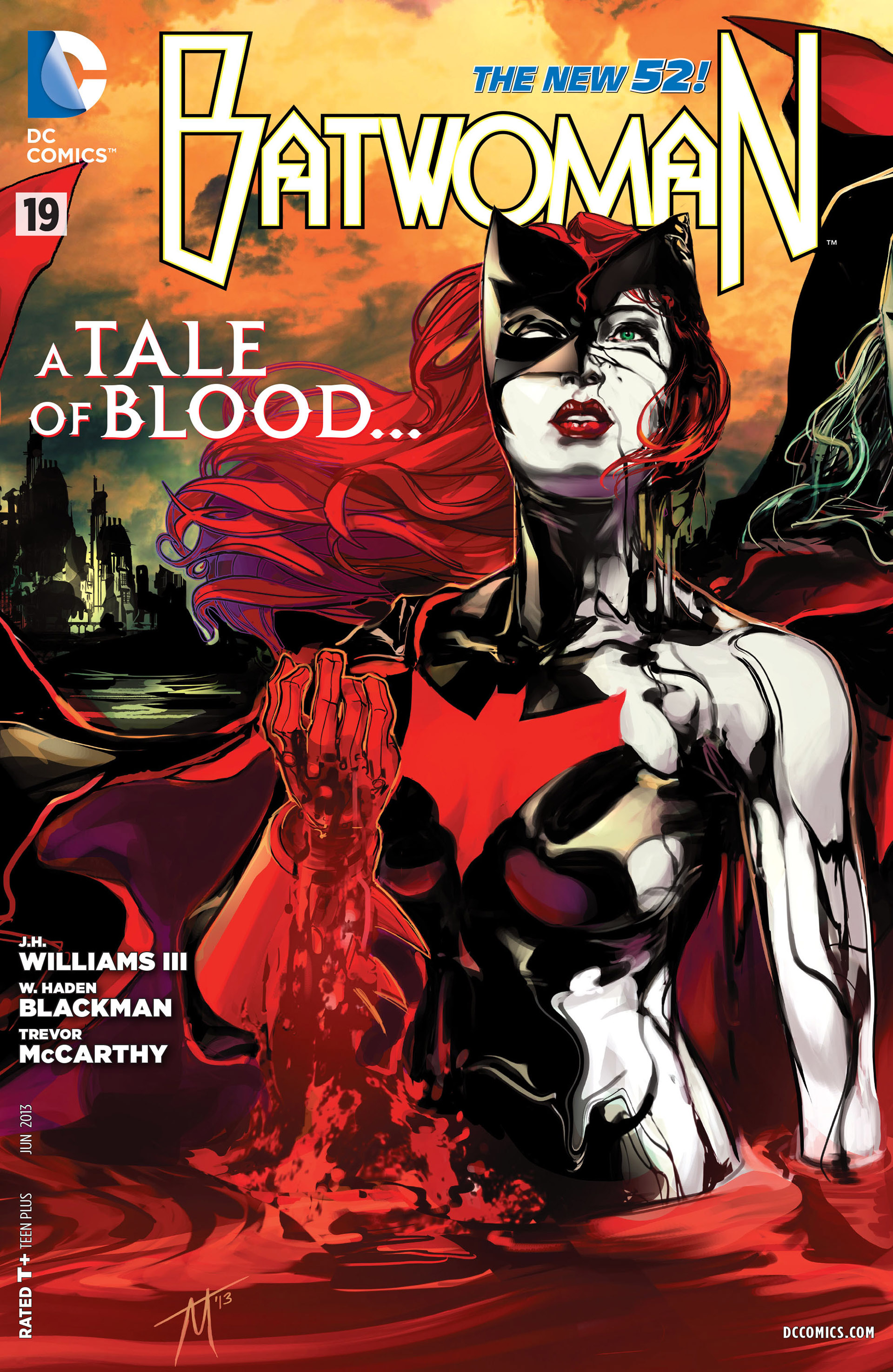 Batwoman New Show Batwoman New 52 Cover