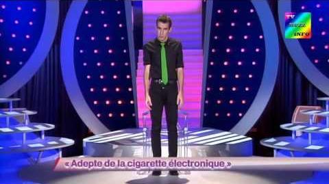 Adepte de la cigarette électronique