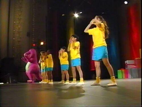 We Are Barney And The Backyard Gang Barney Wiki Wikia