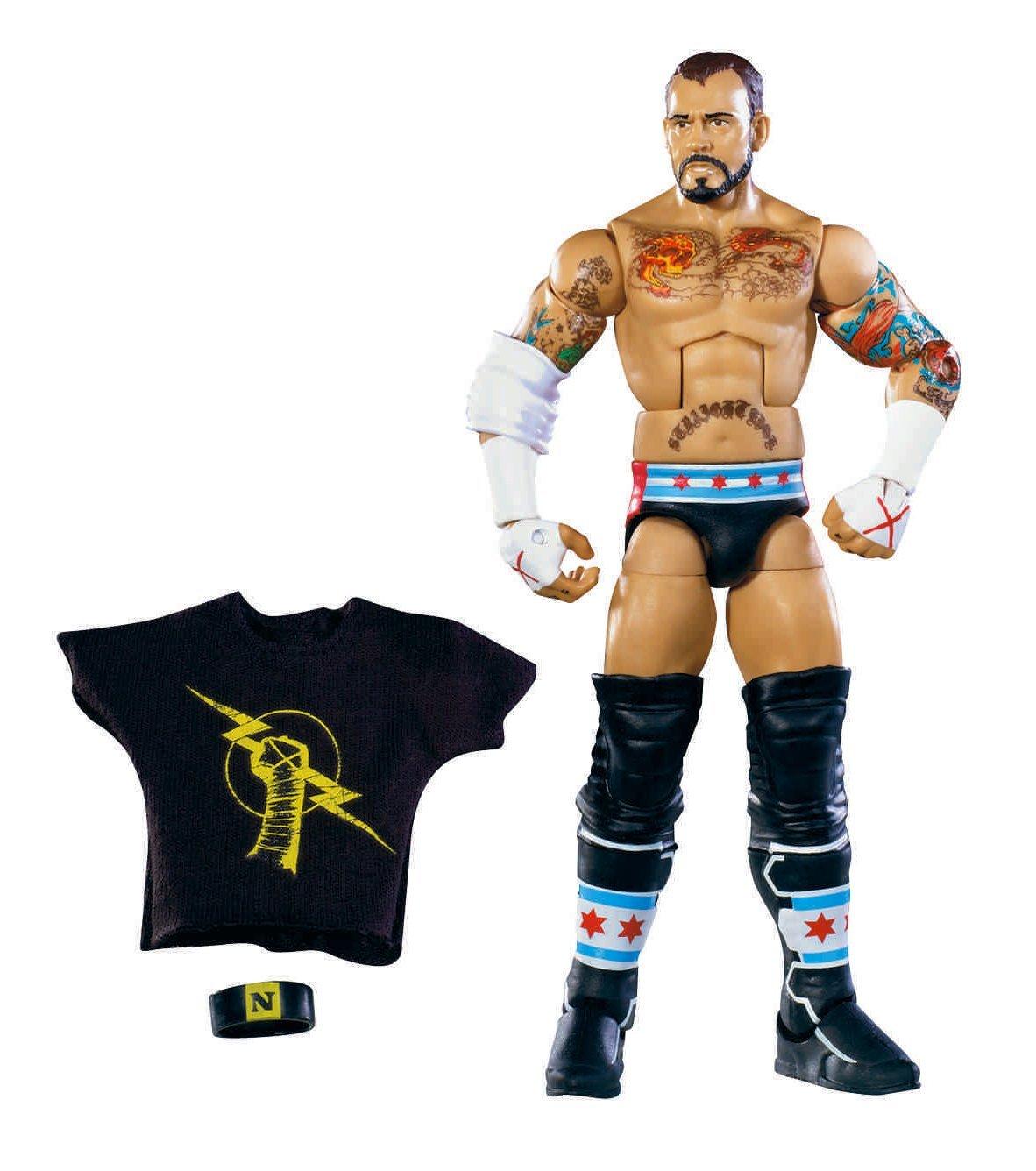 Image - WWE Elite 11 CM Punk.jpg - Pro Wrestling Wiki - Divas, Knockouts, Results, Match ...